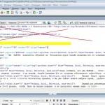 DW - Берем HTML-код из раздела меню Код между тегами