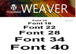 font-size-weaver-wordpress-l
