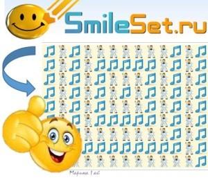 smileset skype odnoklassniki mail.ru