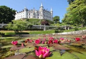 Замок Данробин и Сады - Dunrobin Castle and Gardens