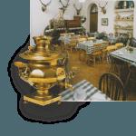 extra tea-room in Dunrobin Castle