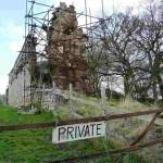 руины замка Скелбо - частное владение