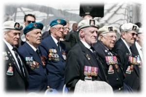 чудом уцелевшие ветераны арктических конвоев