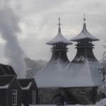 Далвини снежной зимой