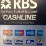 Карты, принимаемые банкоматами Королевского Банка Шотландии (Royal Bank of Scotland - RBS)