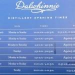 Расписание работы Далвини