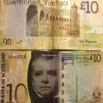 Шотландские фунты Банка Шотландии ( Bank of Scotland)