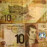 Шотландские фунты Клайдсдейл Банка (Clydesdale Bank)