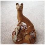 горностай (stoat) - одна из первых работ Джека