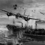 один из арктических конвоев второй мировой