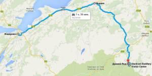 Карта расположения Замка Драмин - Drumin Castle - AB37