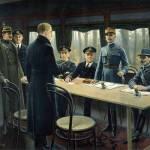 Компьенское перемирие - 11 ноября 1918 года в 11 утра