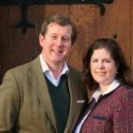 Гай Макферсон-Грант и его жена Виктория - новые владельцы замка Баллиндаллох