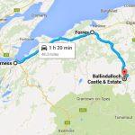 замок Баллиндалох на картах Гугл