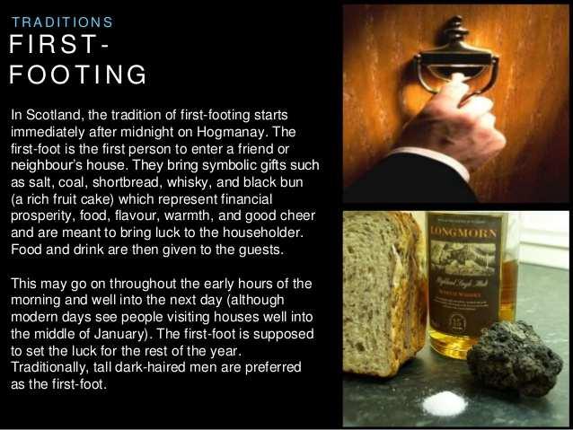 Шотландская традиция Первой ноги - Ферстфут