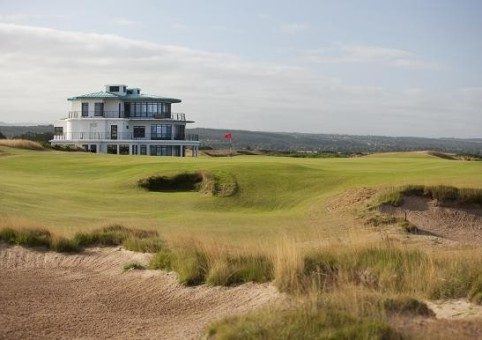 Клубное здание гольф-курсов замка Стюарт