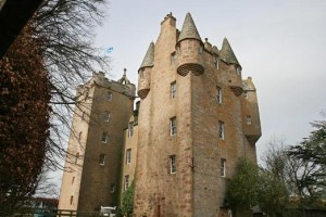 Та самая спальня с тремя башенками в Восточном крыле замка Стюарт