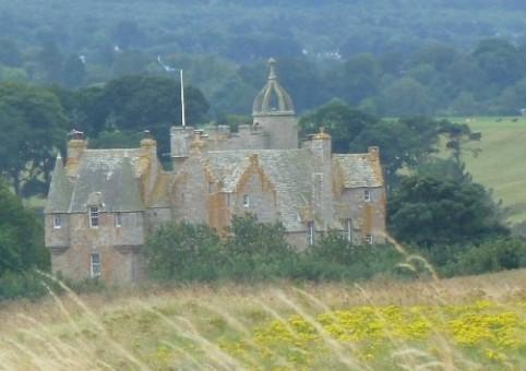 Замок Стюарт — настоящий замок с привидениями