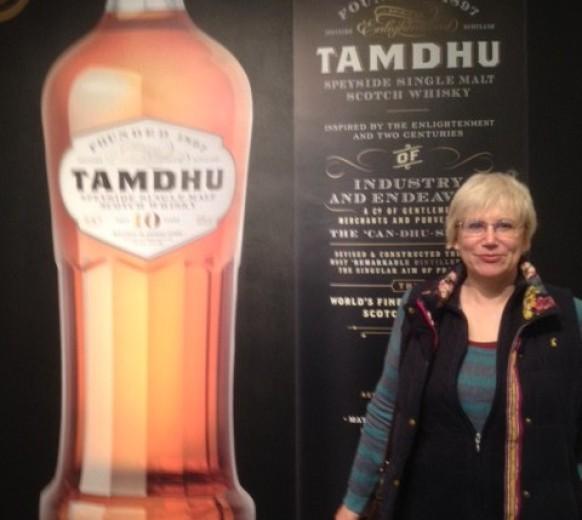 Решила увековечить свое посещение Tamdhu Distillery