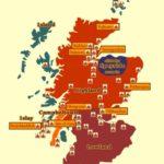 Спейсайд на карте Шотландии