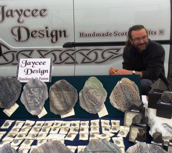 Изделия местных умельцев в кельтском стиле