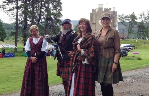На празднике в замке Бремар
