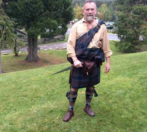 Один из самых колоритных участников шотландец Джеймс