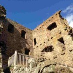 Руины замка Драмин