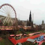 Эдинбург. Рождественский базар и Монумент Вальтеру Скотту