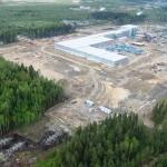 Крупнейший российский завод Калевала в Карелии начал производство ОСП в 2013 г
