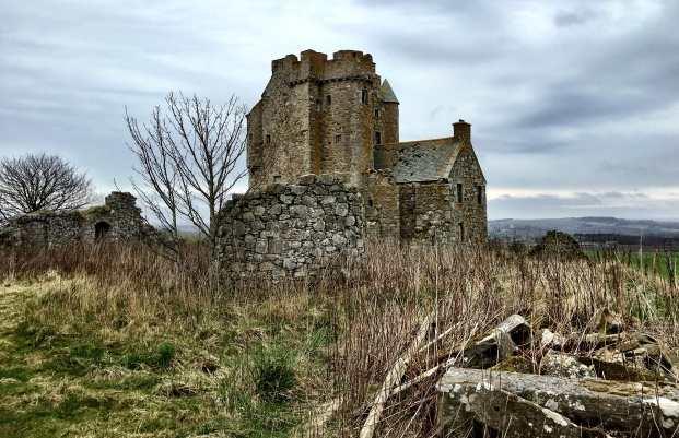На подступах к замку Инчдрюэр