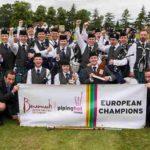 Европейский чемпионат волынщиков в Грант парке Форреса - уже традиция
