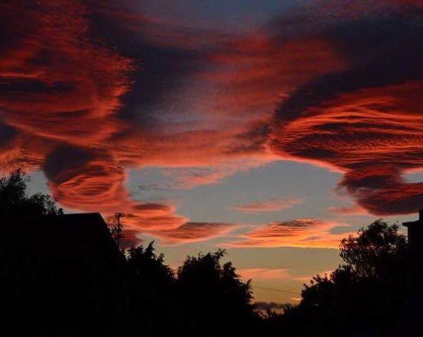 Закатное небо Форреса — сентябрь 2016