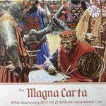 Юбилейная монета - 800 лет Великой хартии вольностей