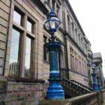 Колонны перед зданием Центральной библиотеки Абердина-Абердин-Что посмотреть