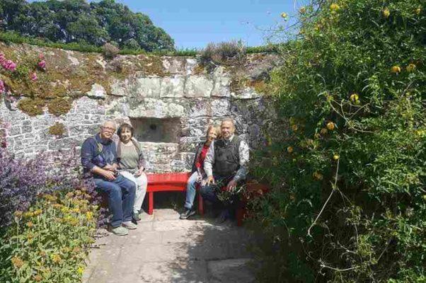 В самом древнем саду замка Кодор