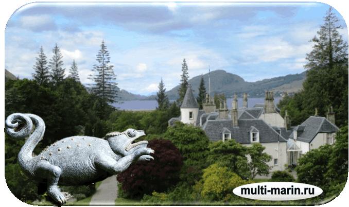 Шотландские сады. Attadale Gardens
