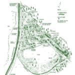 шотландские сады - план Attadale Gardens