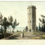Акватинт Уильяма Даниэля 1821 г. - Башня Нельсона