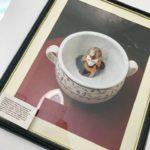 Горшок-плевательница с бюстом Наполеона Бонапарта